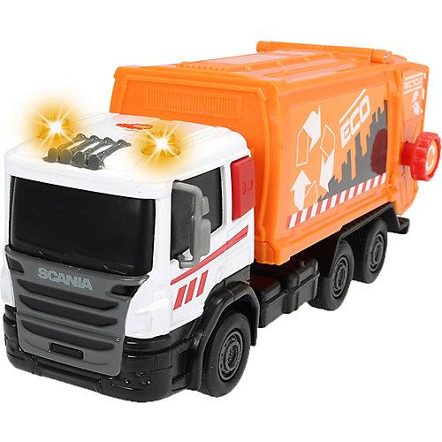 Мусоровоз Dickie Toys Scania, 17 см от Dickie Toys