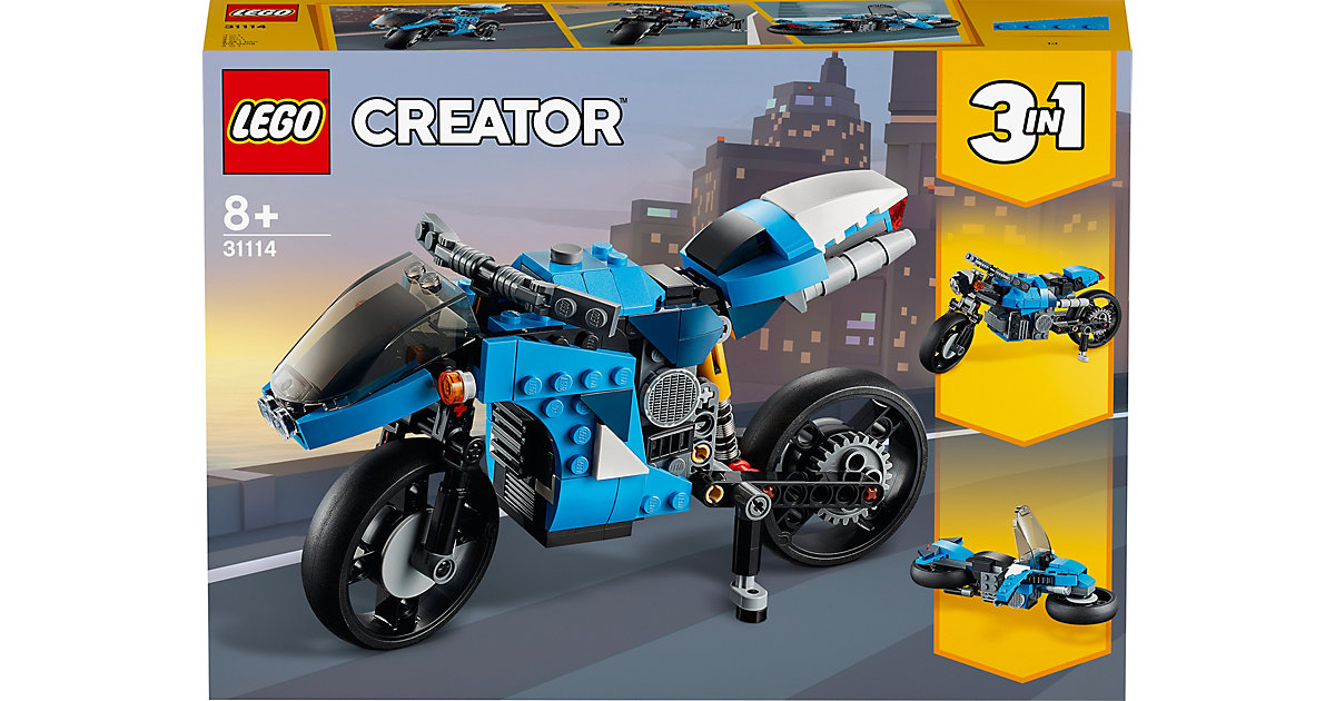 LEGO®® Creator 31114 Geländemotorrad