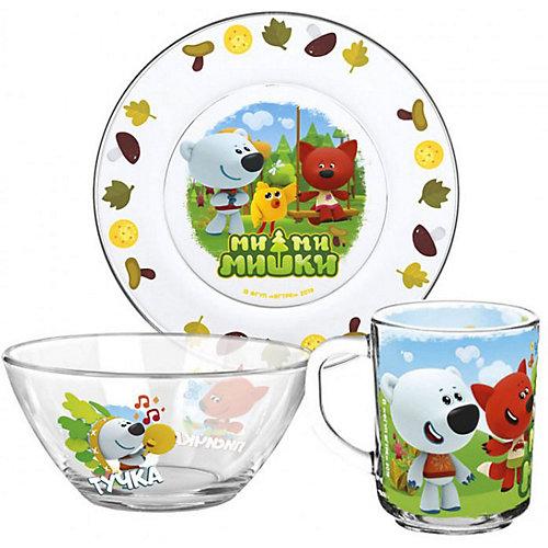 """Набор посуды ND Play """"Мимимишки. Кеша друзья"""", 3 предмета - разноцветный от ND Play"""