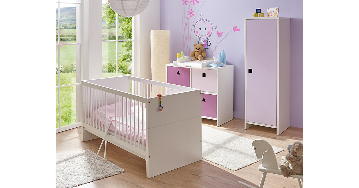 "Image of Babyzimmer ""Cubo"" 3-teilig, verschied. Farben mehrfarbig"