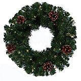 Венок новогодний Morozco, 35 см