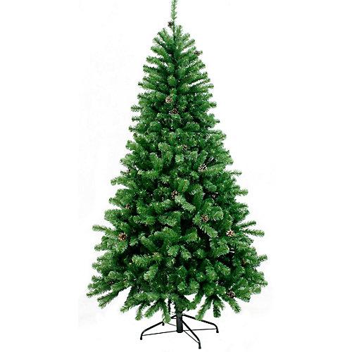 Ель искусственная Beatrees Nicolle с шишками, 1,85 м - зеленый от Beatrees