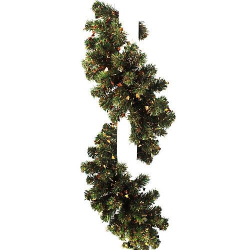 Гирлянда Morozco с мишурой и колокольчиками, 2,7 м - зеленый от Morozco