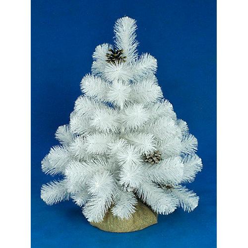 Сосна искусственная Beatrees White crystal, 0,6 м - белый от Beatrees