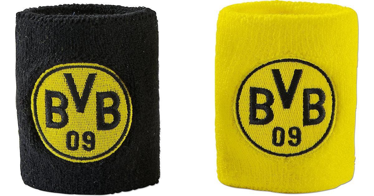 BVB-Schweißband (2er-Set) schwarz/gelb