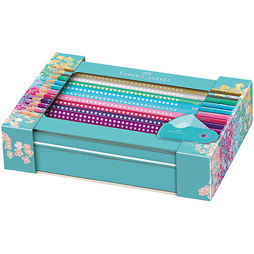 Карандаши цветные Faber-Castell Sparkle, 20 цветов от Faber-Castell