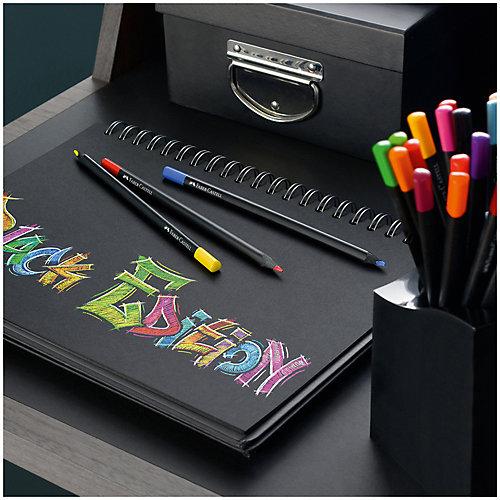 Карандаши цветные Faber-Castell Black edition, 36 цветов от Faber-Castell