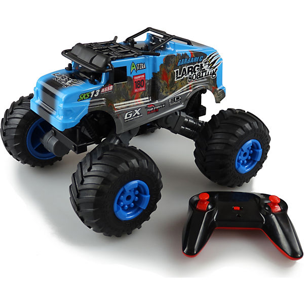 Crazy SXS13 Monstertruck 1:16 RTR, blau