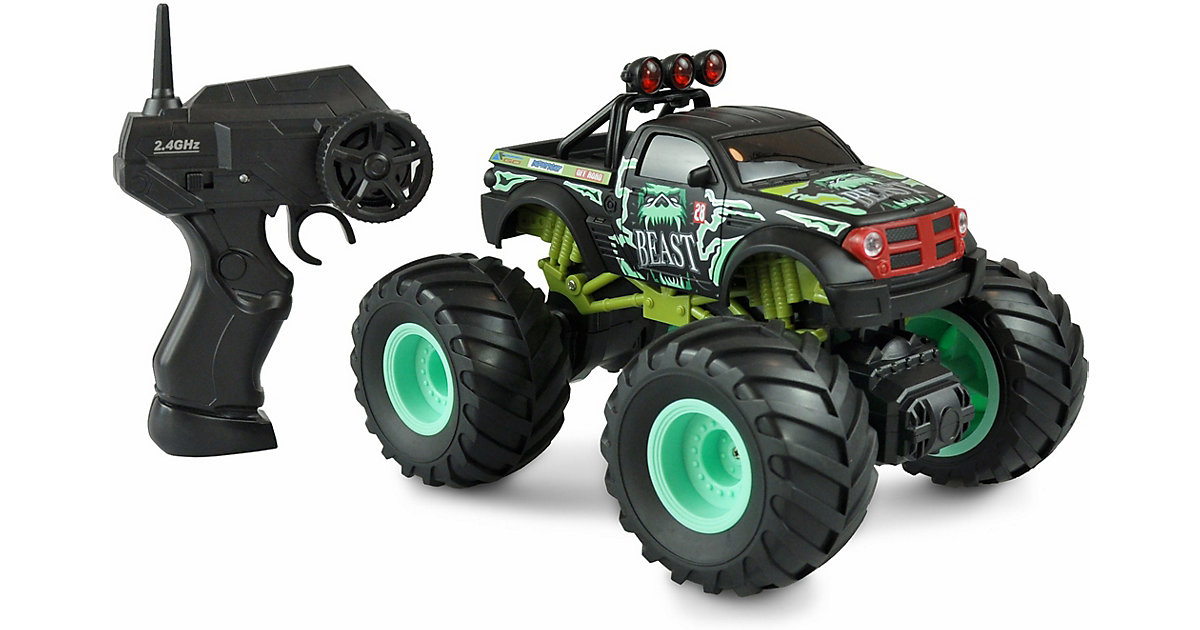 Big Buster Monstertruck 1:18, RTR,  2,4GHz, grün