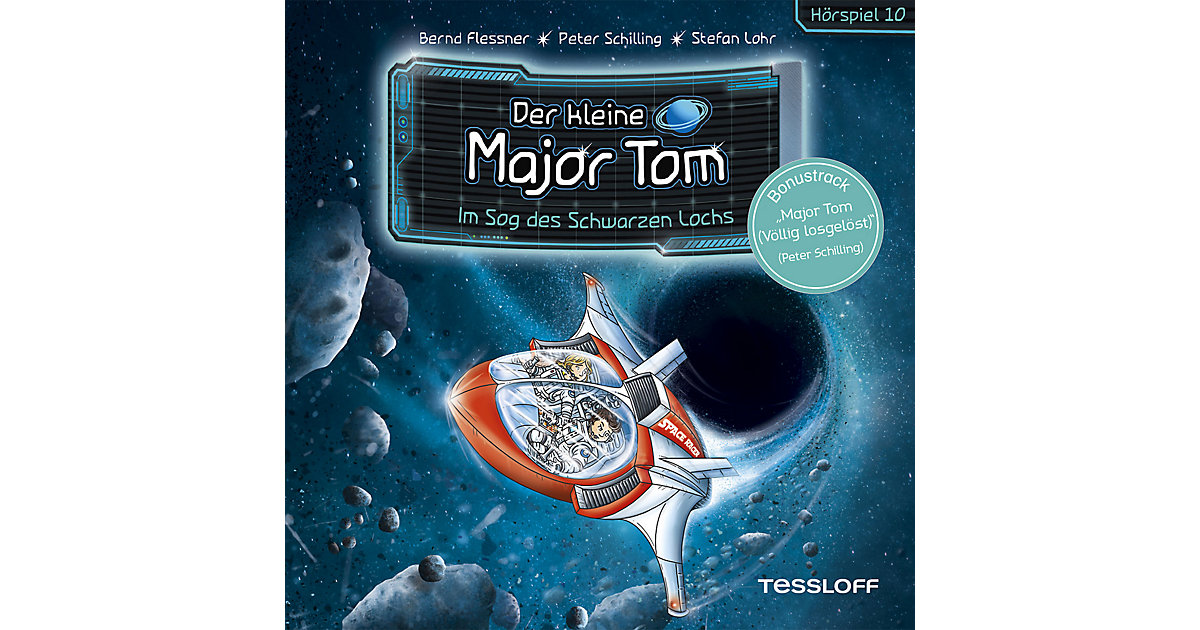 CD Der kleine Major Tom 10 - Im Sog des schwarzen Lochs Hörbuch