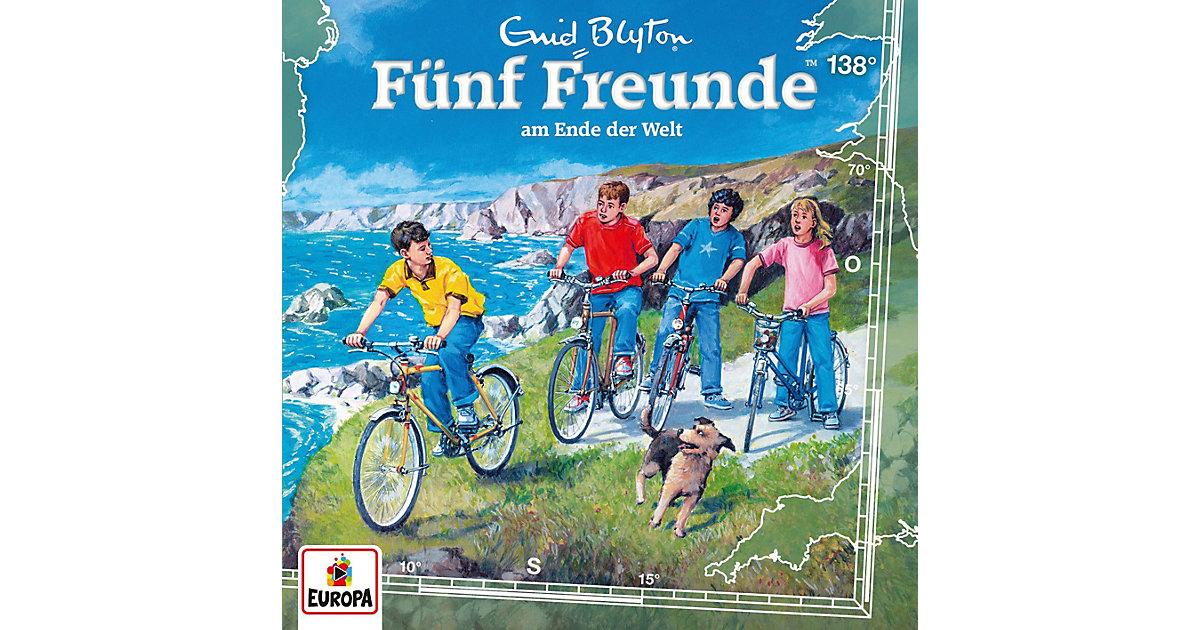CD Fünf Freunde 138 - Am Ende der Welt Hörbuch