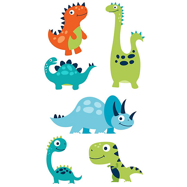 Wandtattoo Dinosaurier Set Fur Das Kinderzimmer Emmijules Mytoys