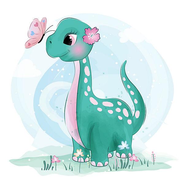 Wandtattoo Dinosaurier Fur Das Kinderzimmer Emmijules Mytoys