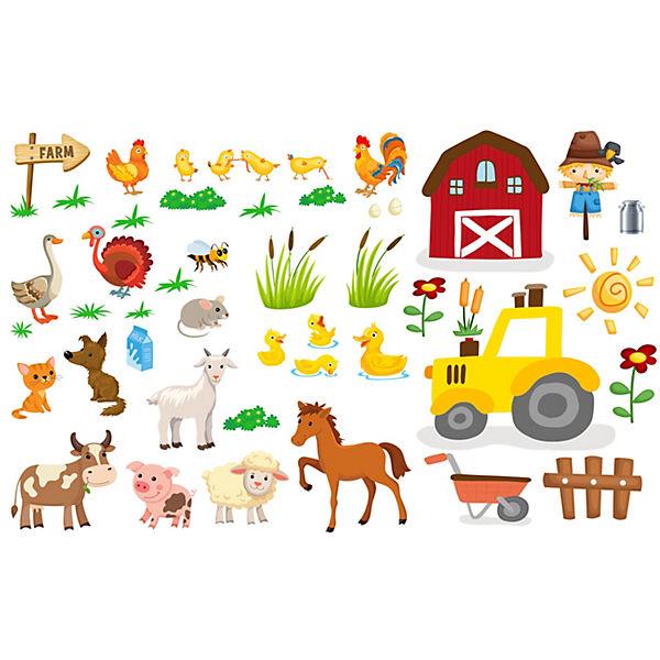 Wandtattoo Bauernhof Fur Das Kinderzimmer Emmijules Mytoys