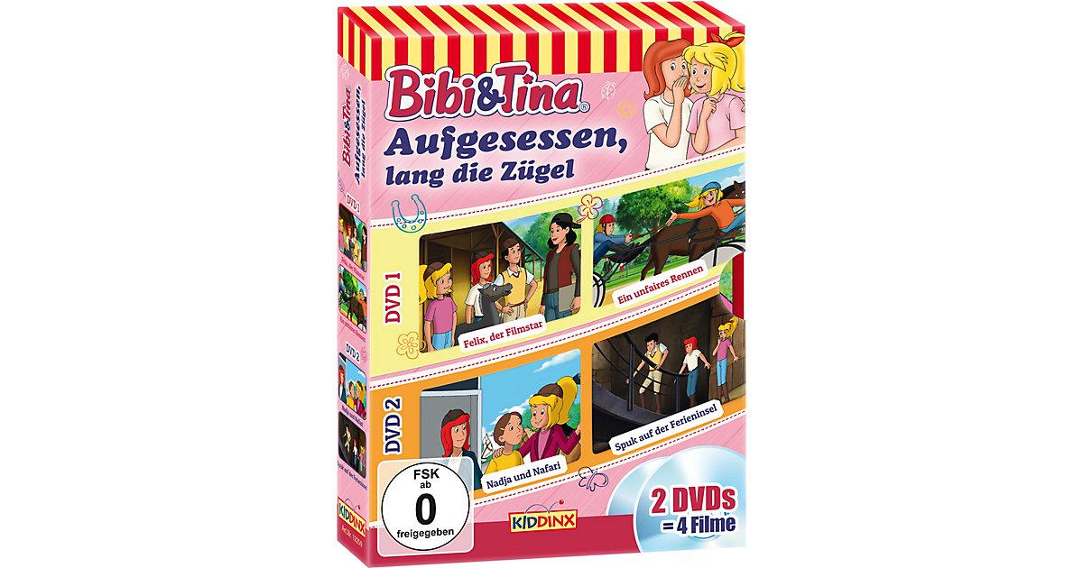 DVD Bibi & Tina - Aufgesessen, lang die Zügel (2 DVDs) Hörbuch