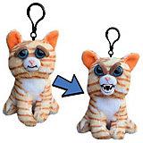 Мягкая игрушка-брелок Feisty Pets Кошка, 11 см