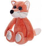 "Мягкая игрушка ABtoys ""Реснички"" Лисичка, 20 см"