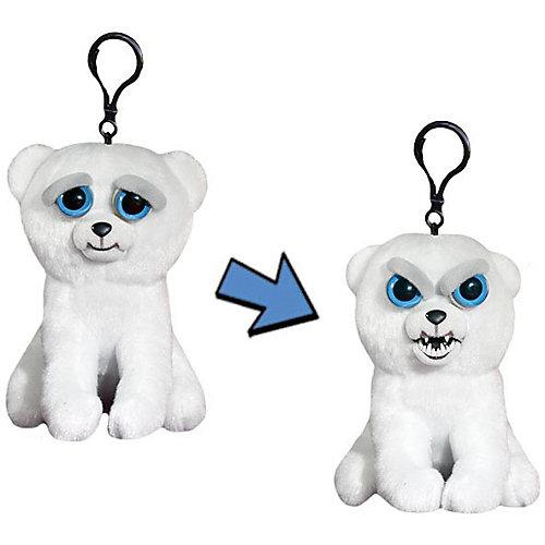 Мягкая игрушка-брелок Feisty Pets Медведь, 11 см от Feisty Pets