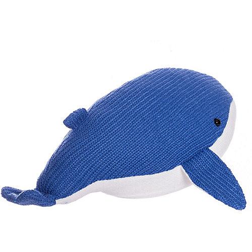 Мягкая игрушка ABtoys Knitted Кит, 39 см от ABtoys