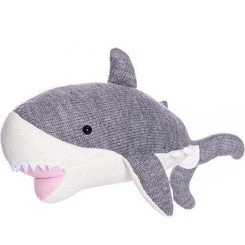 Вязаная игрушка ABtoys Knitted Акула, 40 см от ABtoys