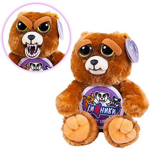 """Мягкая игрушка ABtoys """"Хищники"""" Бурый медведь, 20 см от ABtoys"""