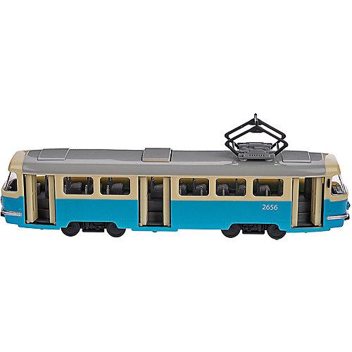 Коллекционная машина Serinity Toys Трамвай Tatra T3SU от Serinity Toys