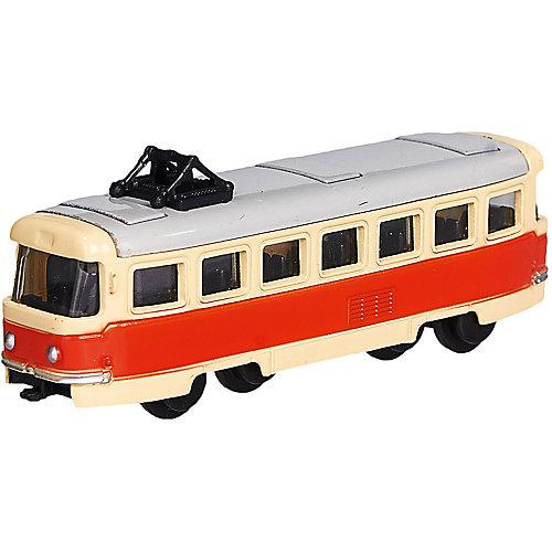 Коллекционная машина Serinity Toys Трамвай МТТЧ 3380, 1:64 от Serinity Toys