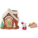 Игровой набор Sylvanian Families Пряничный новогодний домик