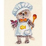 """Набор для вышивания Алиса """"Басик шеф-повар"""" 10х14 см"""