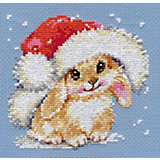 "Набор для вышивания Алиса ""Зимний зайчишка"" 12х12 см"