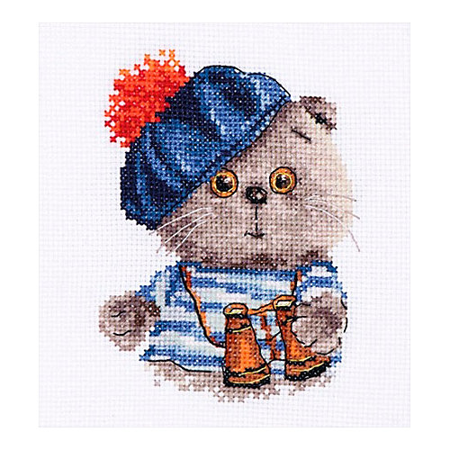 "Набор для вышивания Алиса ""Басик моряк"" 10х12 см от Алиса"