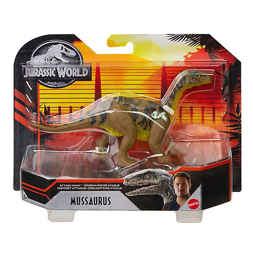 "Фигурка динозавра Jurassic World ""Атакующая стая"" Мусзавр от Mattel"