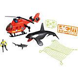 Игровой набор Chap Mei Касатка с вертолетом