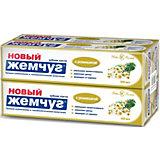 Зубная паста Новый Жемчуг С ромашкой, 100 мл, 4 шт