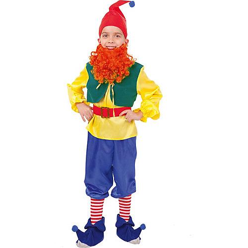"""Карнавальный костюм Пуговка """"Гном Тилли"""" - сине-жёлтый от Пуговка"""