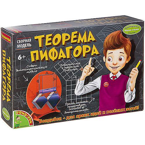 "Набор для опытов Bondibon ""Теорема Пифагора"" от Bondibon"