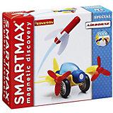 """Магнитный конструктор Bondibon SmartMax """"Специальный набор"""" Полёт, 9 деталей"""