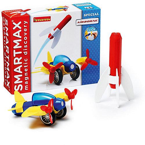 """Магнитный конструктор Bondibon SmartMax """"Специальный набор"""" Полёт, 9 деталей от Bondibon"""