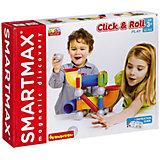 Магнитный конструктор Bondibon SmartMax Click & Roll, 30 деталей