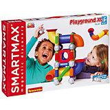 Магнитный конструктор Bondibon SmartMax Playground XL, 46 деталей