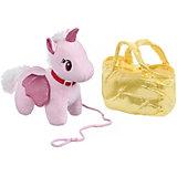 """Мягкая игрушка Bondibon """"Милота"""" Крылатый единорог в сумке, 20 см"""