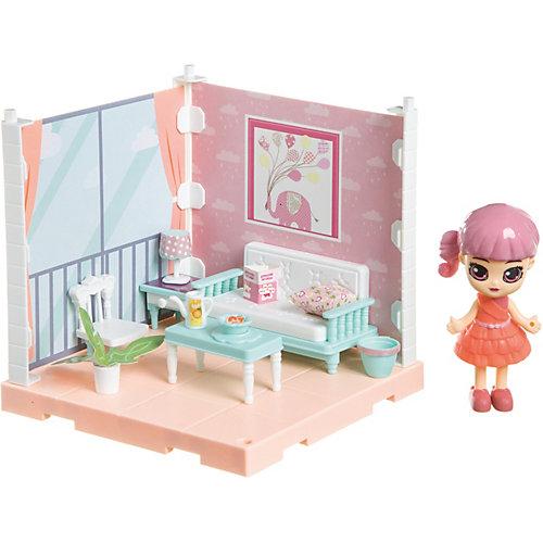 """Игровой набор Bondibon Oly Кукольный уголок """"Гостиная"""" с куколкой от Bondibon"""