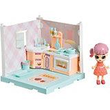 """Игровой набор Bondibon Oly Кукольный уголок """"Кухня"""" с куколкой"""