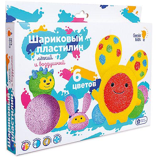 Шариковый пластилин Dream Makers, 6 цветов от Dream Makers