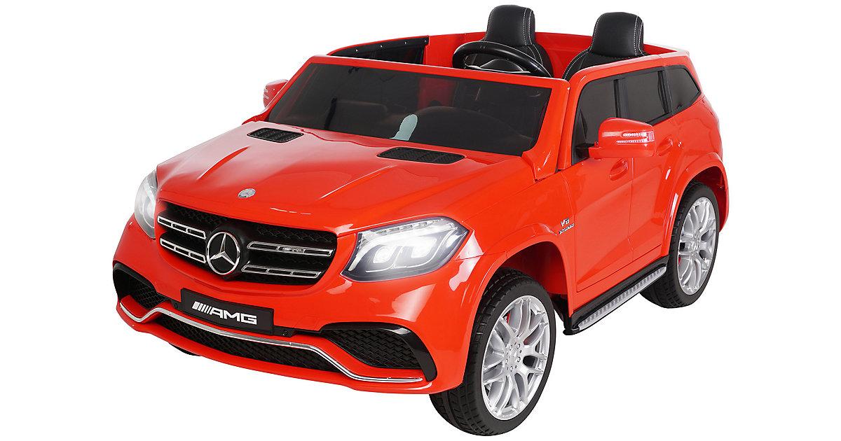 Kinder Elektroauto Mercedes-Benz GLS63 Lizenziert rot