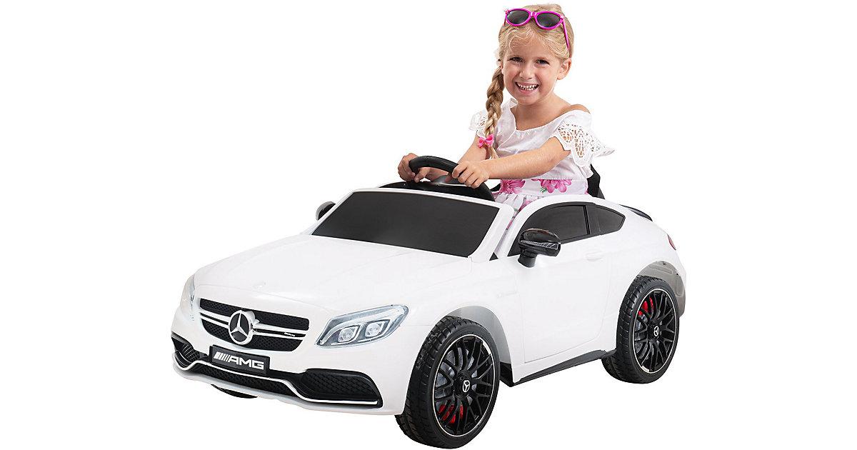 Kinder Elektroauto Mercedes AMG C63 Lizenziert weiß