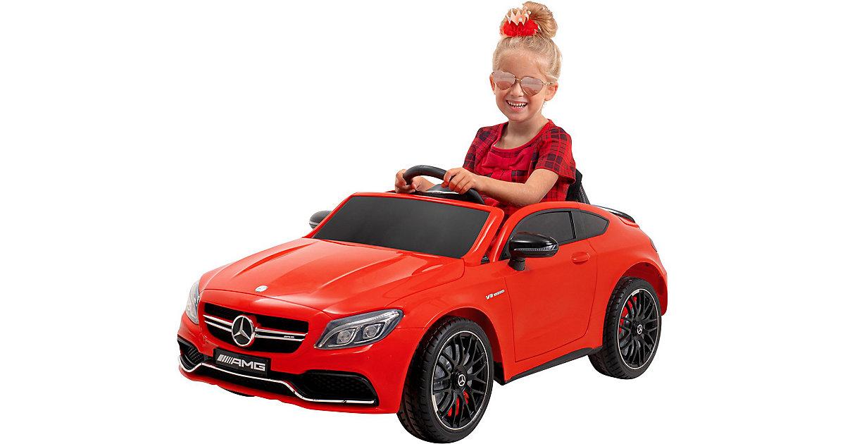 Kinder Elektroauto Mercedes AMG C63 Lizenziert rot