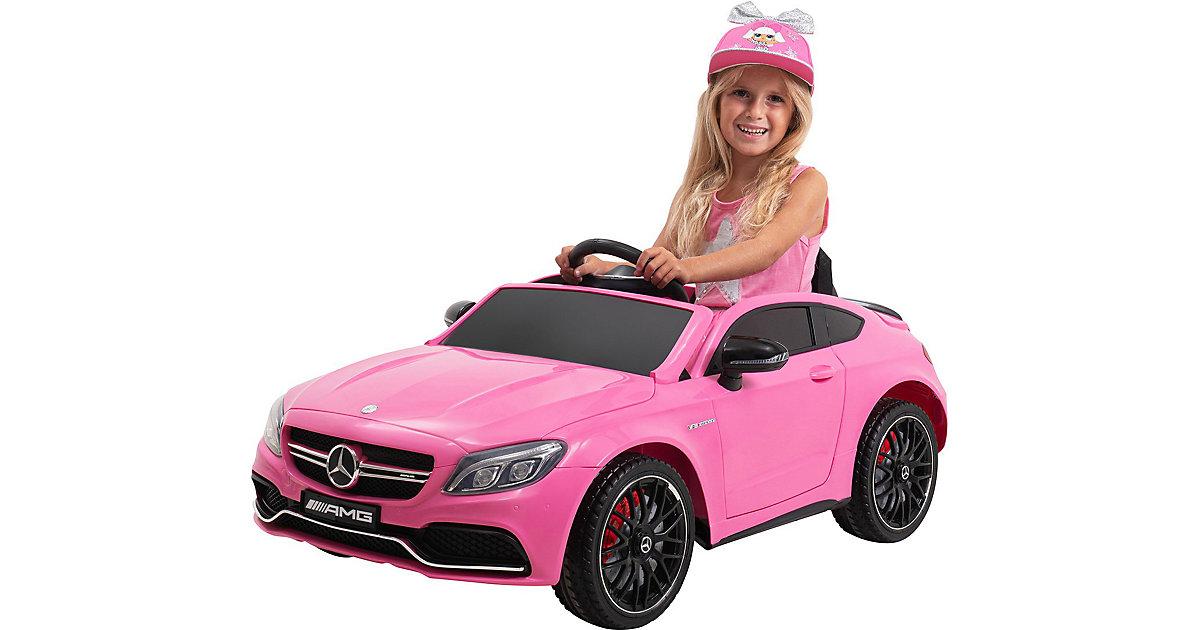 Kinder Elektroauto Mercedes AMG C63 Lizenziert pink