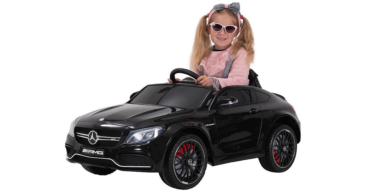 Kinder Elektroauto Mercedes AMG C63 Lizenziert schwarz