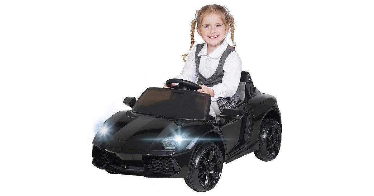 Kinder Elektroauto Super Sport schwarz